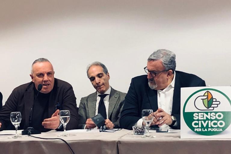 Presentato a Bari il movimento Senso civico per la Puglia