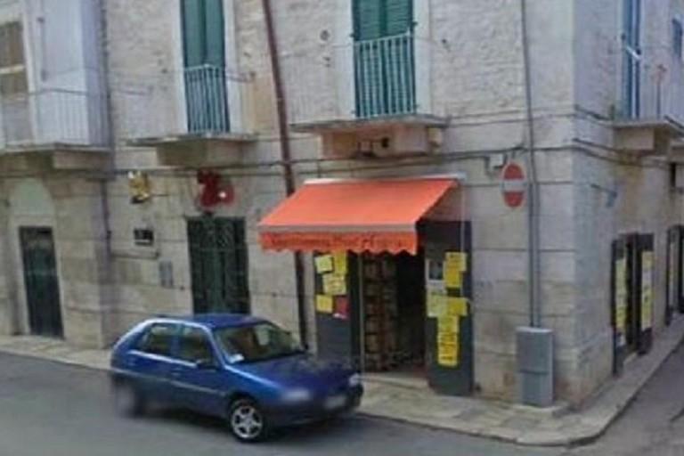 La salumeria teatro della rapina conclusa con l'uccisione di Giuseppe Di Terlizzi