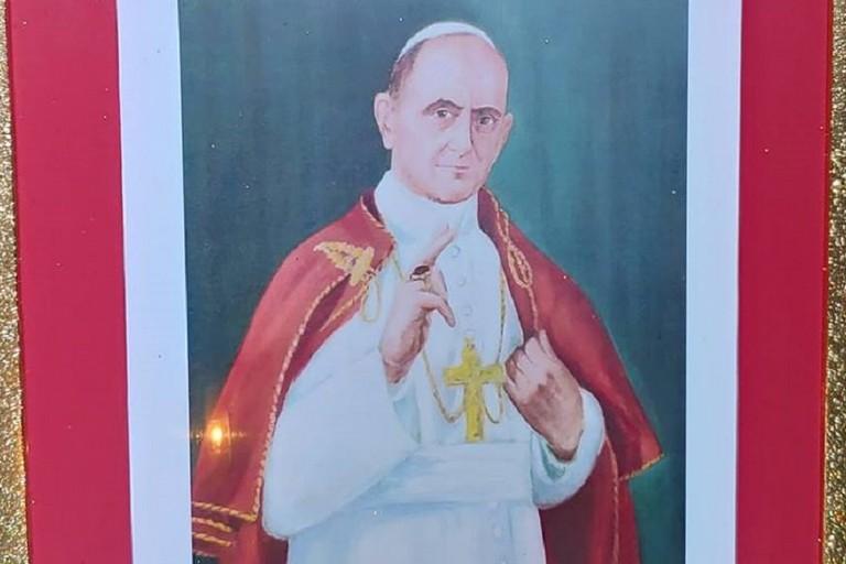 Effige di Paolo VI