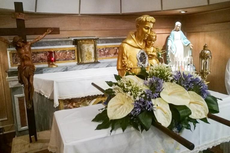 Le reliquie di Sant'Antonio da Padova a Bisceglie
