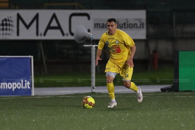 Bisceglie calcio: Francisco Sartore. <span>Foto Emmanuele Mastrodonato</span>
