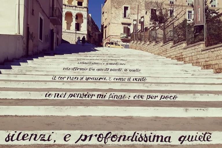 Scalinata dei Lettori in via Porto