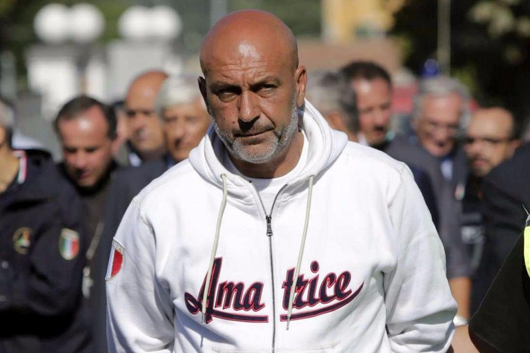 Sergio Pirozzi a Bisceglie per il fuori cartellone di Libri nel Borgo Antico