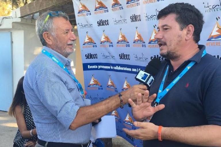 Sergio Silvestris applauditissimo nel suo intervento al campus Everest018 di Giovinazzo