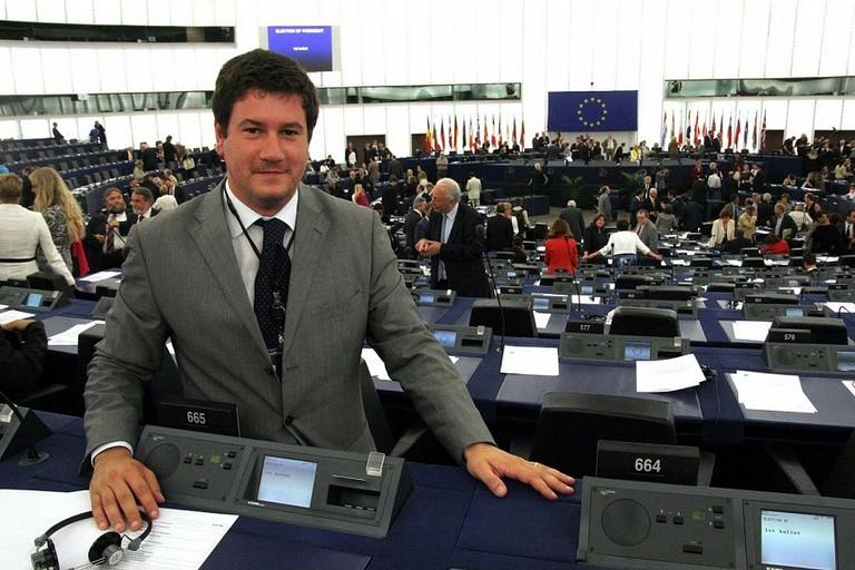 Sergio Silvestris al Parlamento Europeo