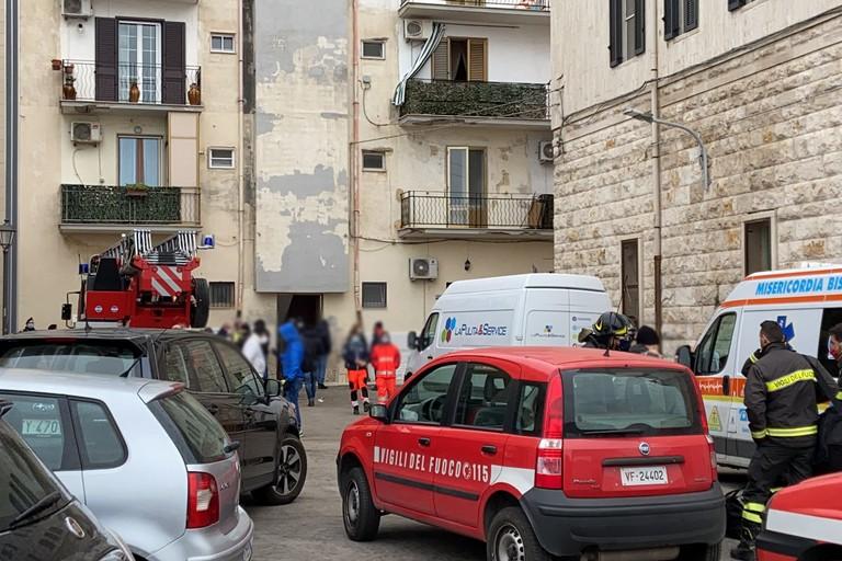 Operazioni di sgombero degli alloggi occupati abusivamente a Bisceglie