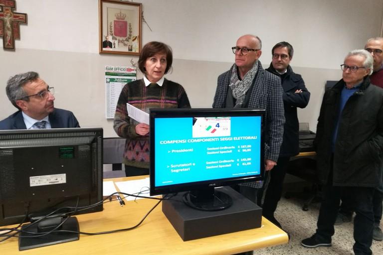 Sorteggio scrutatori per le elezioni politiche del 4 marzo. <span>Foto Serena Ferrara</span>