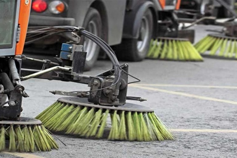 Spazzamento meccanico delle strade