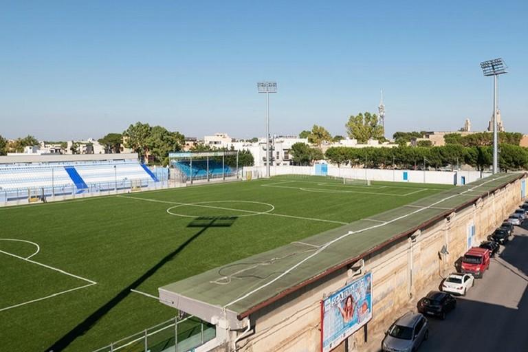 Lo stadio di Francavilla Fontana