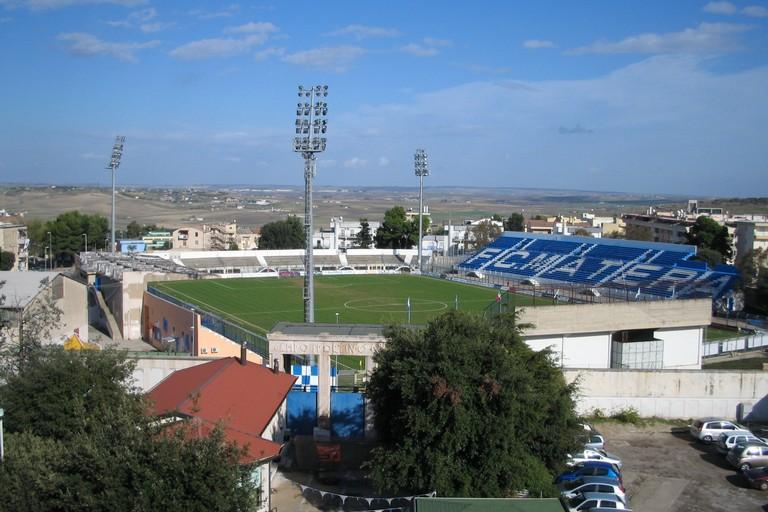 Lo stadio di Matera