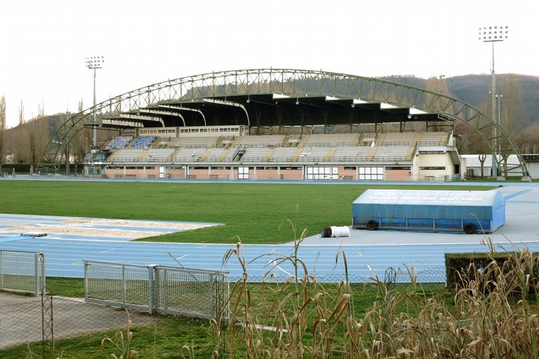 Lo stadio Guidobaldi di Rieti