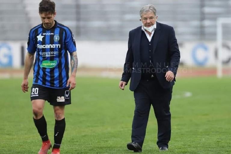 Paolo Tavano e Marco Romizi. <span>Foto Emmanuele Mastrodonato</span>