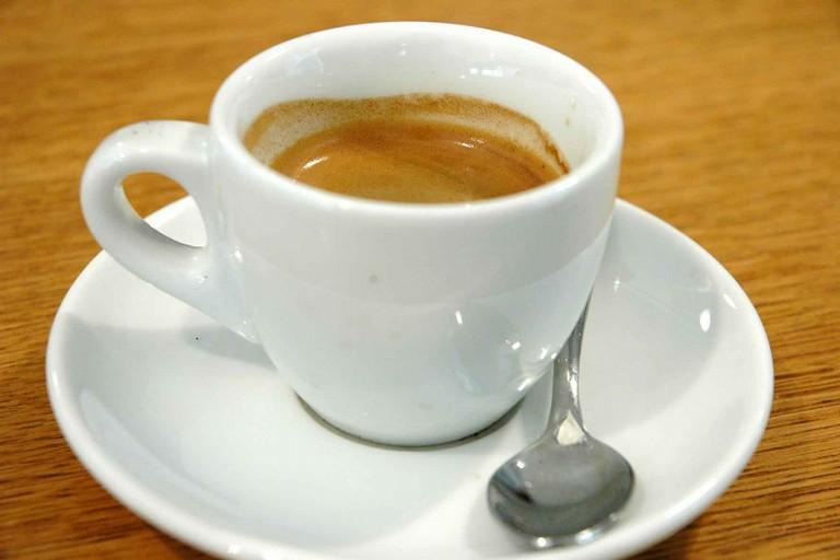 Tazzina con caffè