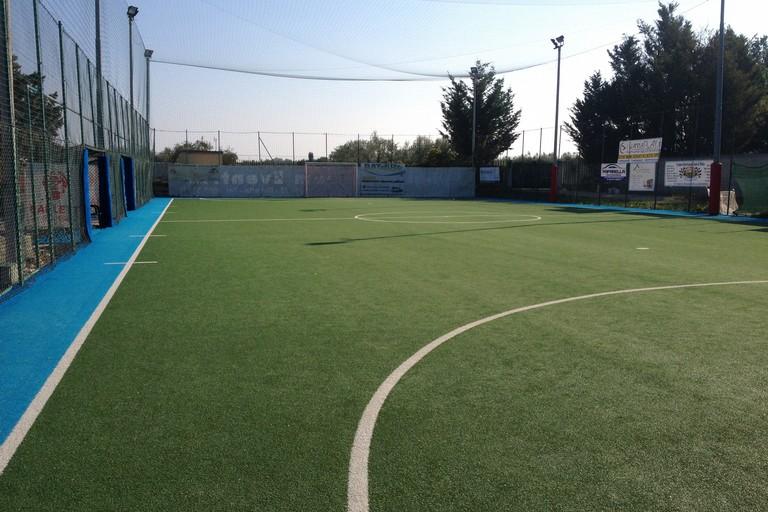 Il Tc Sport di Barletta, teatro della gara tra Vigor e Fùtbol Cinco. <span>Foto Nico Colangelo</span>