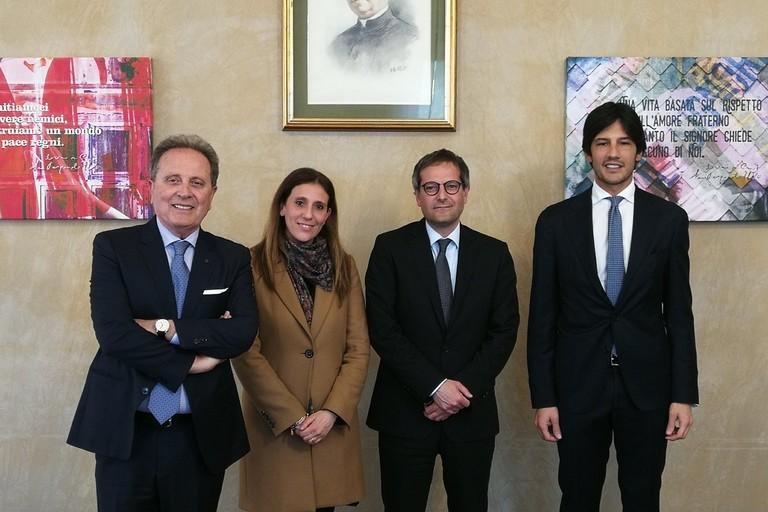 Paolo Telesforo, Roberta Rigante, Angelantonio Angarano e Luca Vigilante