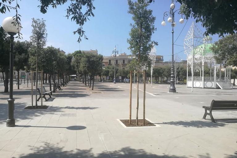 Ultimati i lavori di pavimentazione in piazza Vittorio Emanuele II