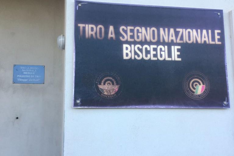 Sezione di Bisceglie del Tiro a segno nazionale. <span>Foto Luca Ferrante</span>