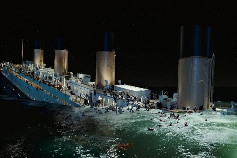 Titanic affondato
