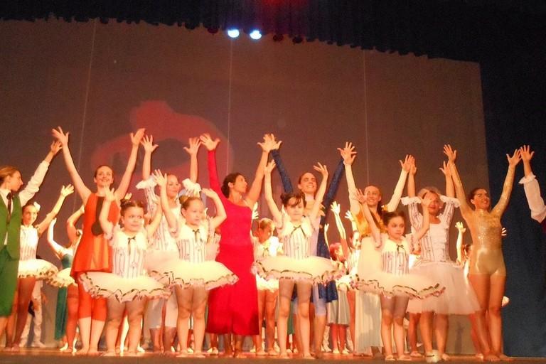 Spettacolo di danza al Politeama. <span>Foto Antonella Salerno</span>