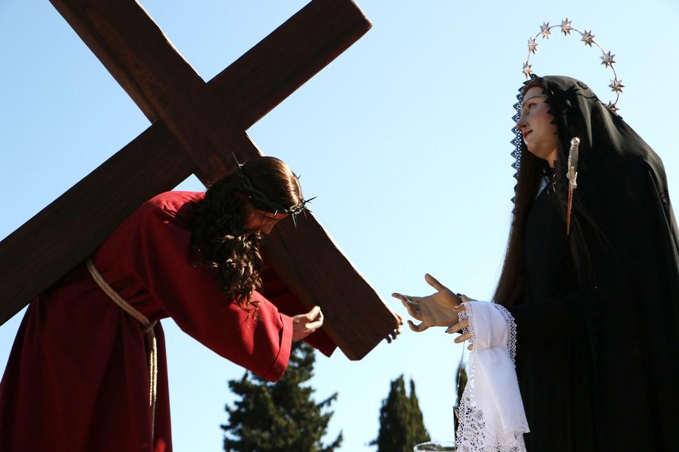 Processione dell'incontro Bisceglie (Foto Serena Ferrara)
