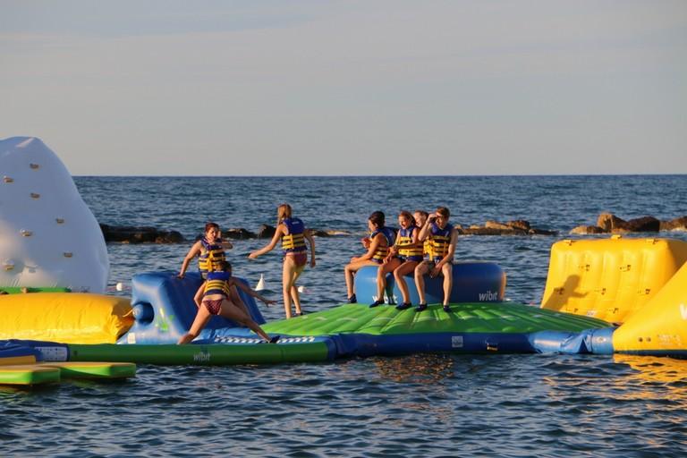 Summer University: il frizzante inizio tra gli adrenalinici sentieri di Splash Sea