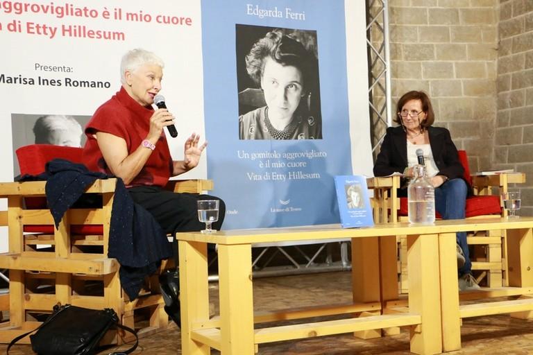 Edgarda Ferri. <span>Foto Graziana Ciccolella</span>