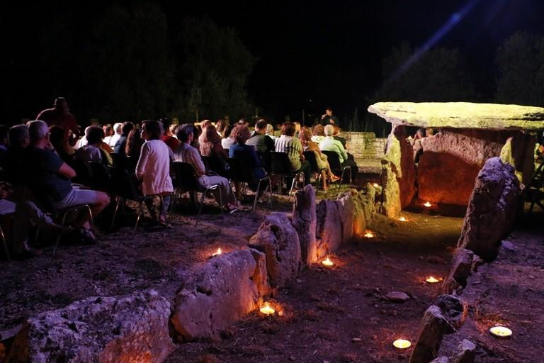 Notte di Poesia al dolmen