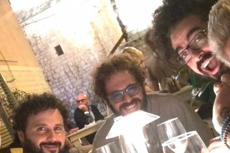 Tony Cassanelli, Albert D'Andrea e Caparezza