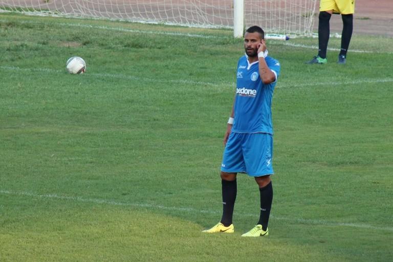 Vincenzo Bufi, difensore dell'Unione. <span>Foto Unione Calcio Bisceglie</span>
