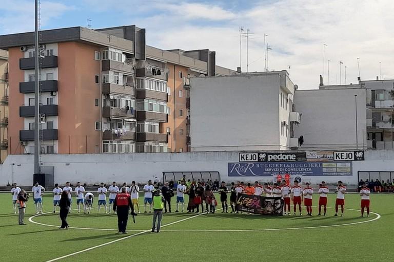 Unione-Molfetta Calcio. <span>Foto Donatella Todisco</span>