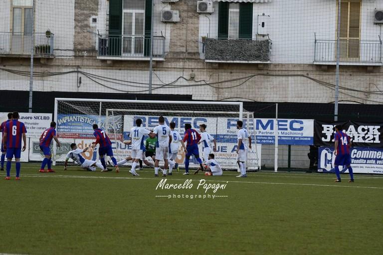 Unione Bisceglie-Casarano. <span>Foto Marcello Papagni</span>