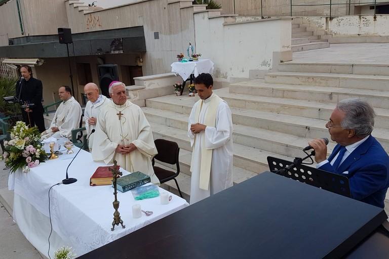 Santa Messa nel parco Unità d'Italia