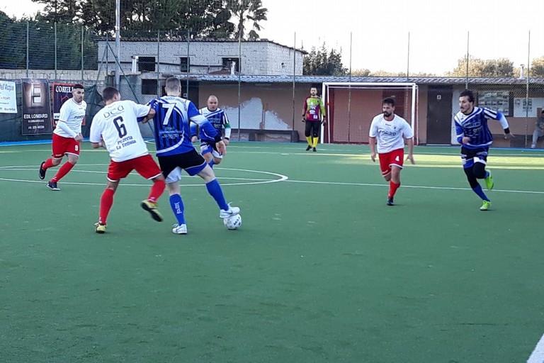Un'istantanea del match. <span>Foto Nico Colangelo</span>