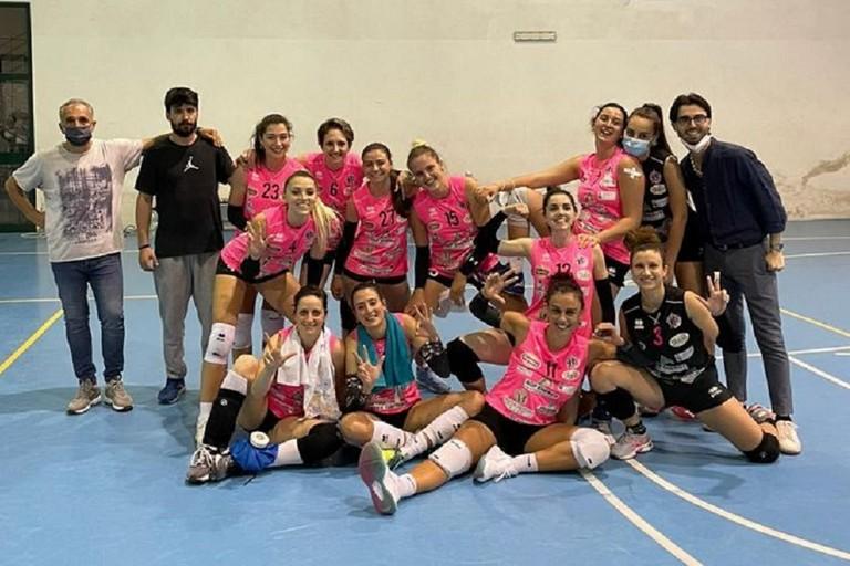 La gioia del team Star Volley