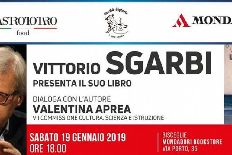 Vittorio Sgarbi presenta il libro