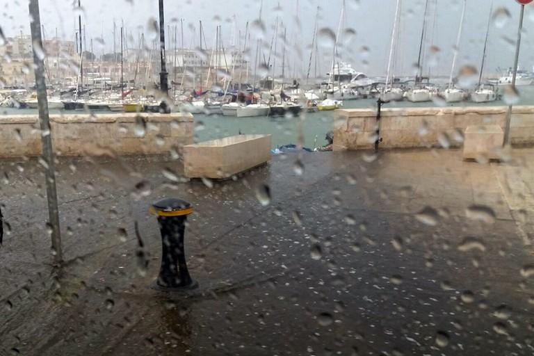 pioggia Bisceglie