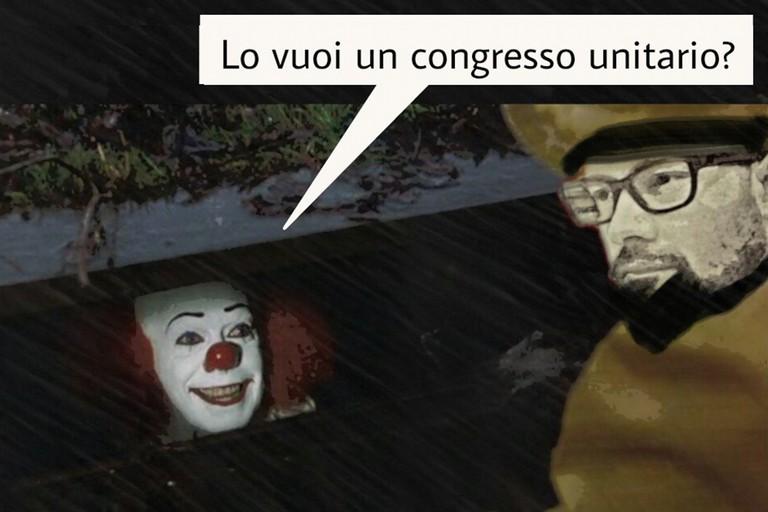 vignetta congresso Pd