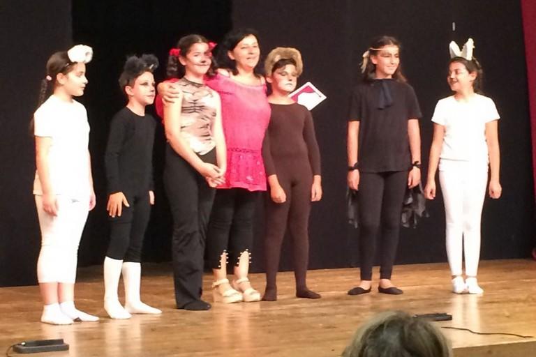 Compagnia dei teatranti junior Eracle. <span>Foto Luca Ferrante</span>