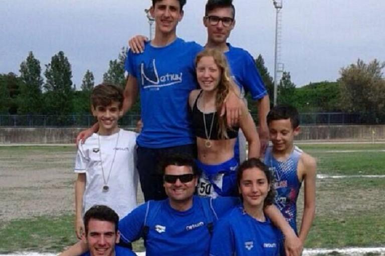 Gli atleti della Netium
