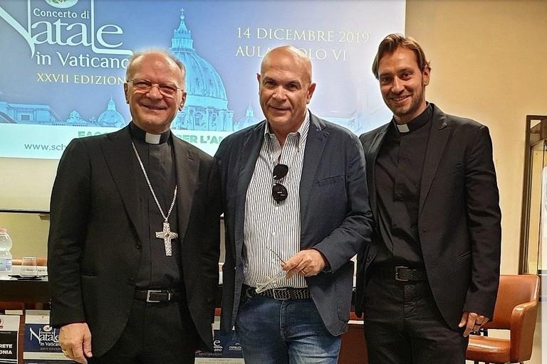 Monsignor Vincenzo Zani, Alfredo Nolasco e don Davide Banzato